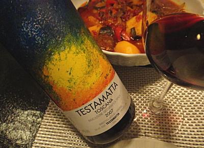 Wine Review #1 Testamatta Igt 2007 – Bibi Graetz