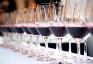 red-wine-tasting-line-up-of-glasses